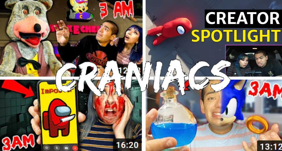 4 Vidéos trouvées sur la chaîne YouTube Arcade Craniacs.