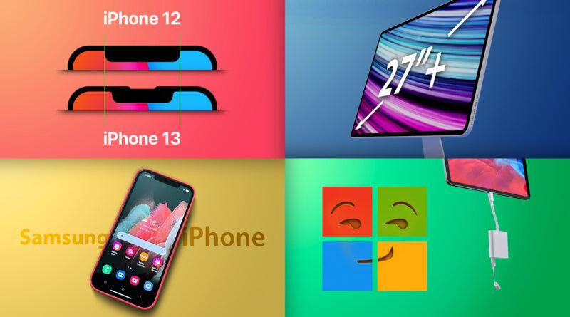 Top Stories: Extension `` Find My '', maquette iPhone 13 Pro, le plus grand iMac de tous les temps?