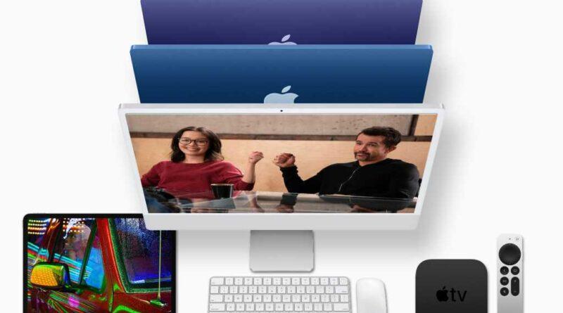 Nouvelles versions d'Apple pour mai 2021