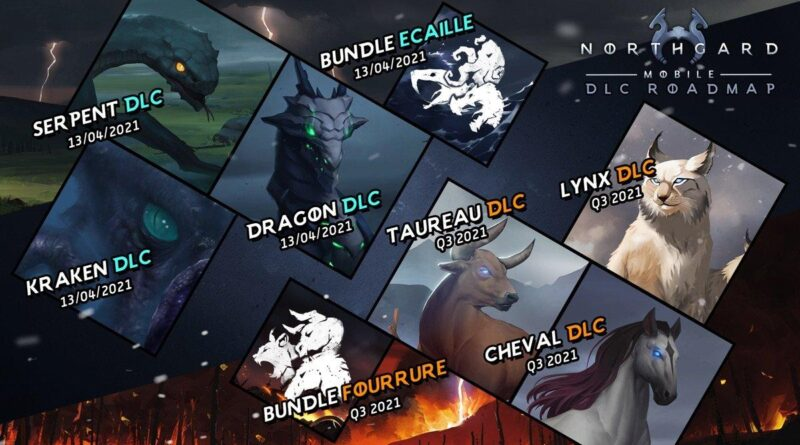 Northgard : le jeu de stratégie autour de l'univers Vikings est disponible