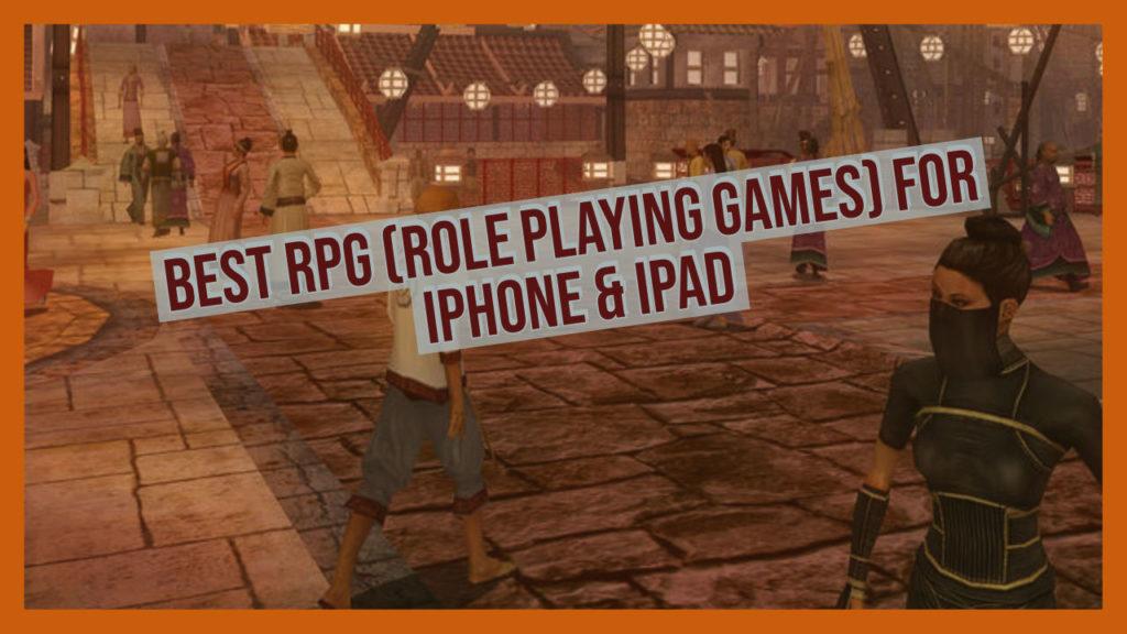 Meilleurs jeux RPG à jouer sur iOS ou iPadOS