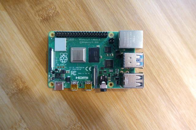 Le Raspberry Pi 4.