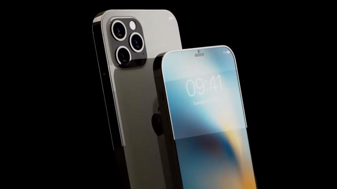 Conception du concept iPhone 13