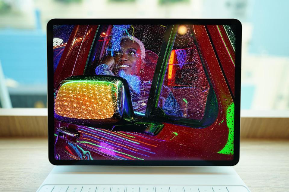 L'écran Mini LED du nouvel iPad.