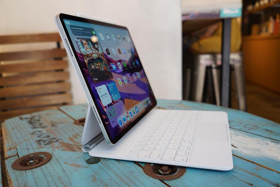 Le clavier magique iPad.
