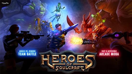 Héros de SoulCraft - MOBA