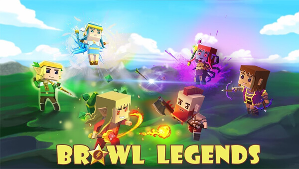 Brawl Legends.io - Bagarreur mobile 5vs5 et 3vs3
