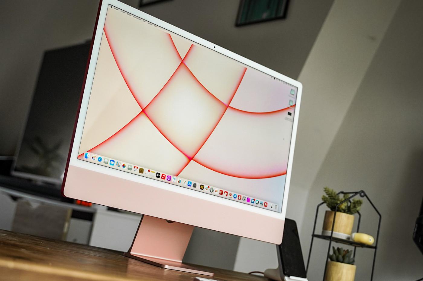 tester la conception de l'iMac m1