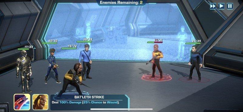 Bataille des légendes de Star Trek