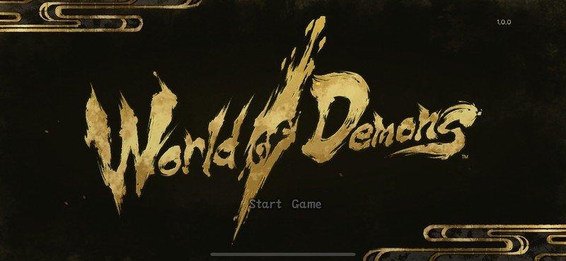 Titre du monde des démons
