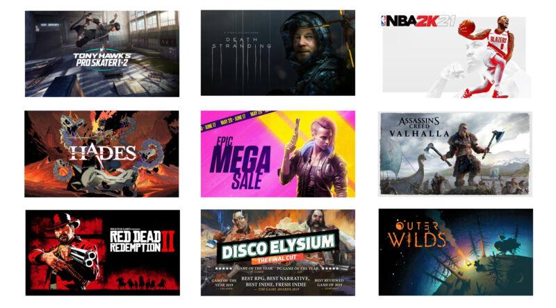La «Mega Sale» d'Epic revient avec des tonnes de réductions sur des jeux PC remarquables
