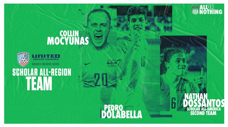 Le trio de soccer masculin champion national remporte des prix de boursier