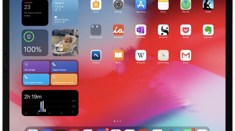 iPadOS 14: tout ce que nous savons