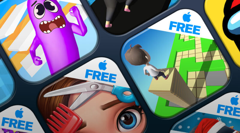 Mobile Charts: Top 10 free games for iPhone and iPad (iOS)
