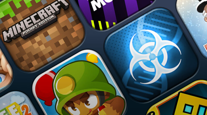 Mobile Charts: Top 10 paid games for iPhone and iPad (iOS)