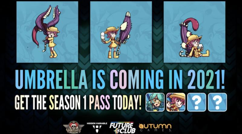 Umbrella est annoncé comme le prochain nouveau personnage jouable de 'Skullgirls' - TouchArcade