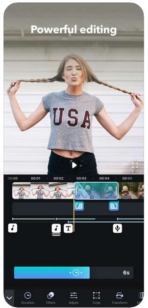 Meilleur éditeur vidéo iPad