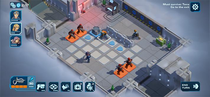Spaceland Apple Arcade Jeu de rôle pour iPhone, iPad et Apple TV