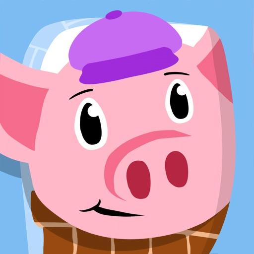 Oinky le cochon : à la ferme