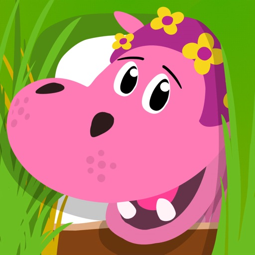 Pinky l'hippopotame : à l'état sauvage