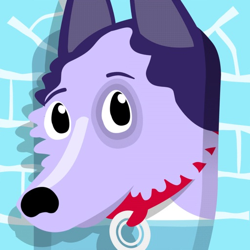 Ruffy le Husky : sur glace