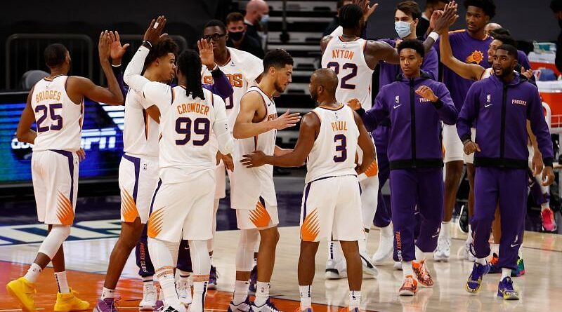The Phoenix Suns take on the Denver Nuggets in the Western Conference semi-finals.