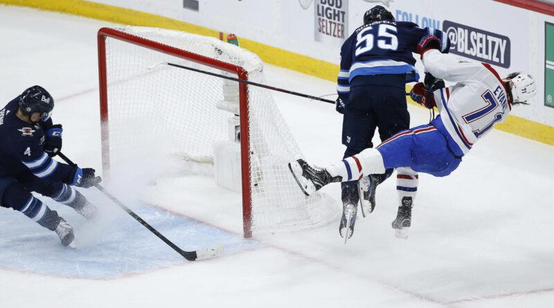 Victoire des Canadiens au match 1 tempérée par un coup sûr contre Jake Evans