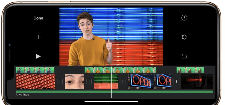 Meilleur éditeur vidéo pour iPhone et iPad