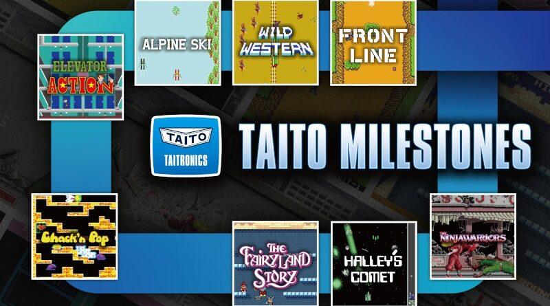 Taito Milestones amènera les jeux d'arcade classiques à changer l'année prochaine
