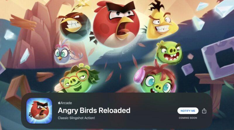 Angry Birds Reloaded, Doodle God Universe et Alto's Odyssey: The Lost City arrivent sur Apple Arcade