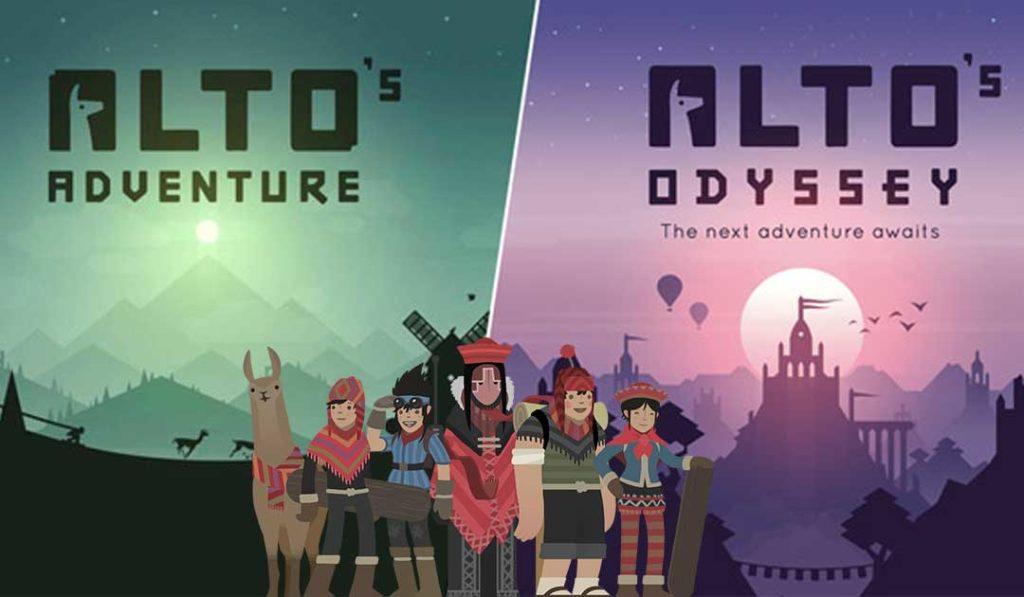 L'Odyssée d'Alto et l'Aventure d'Alto