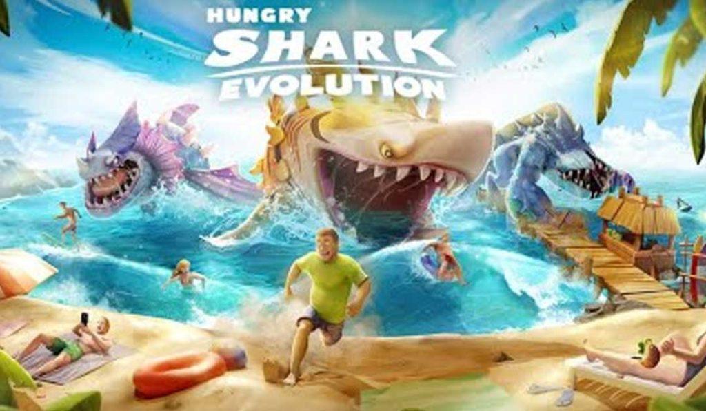 Évolution du requin affamé