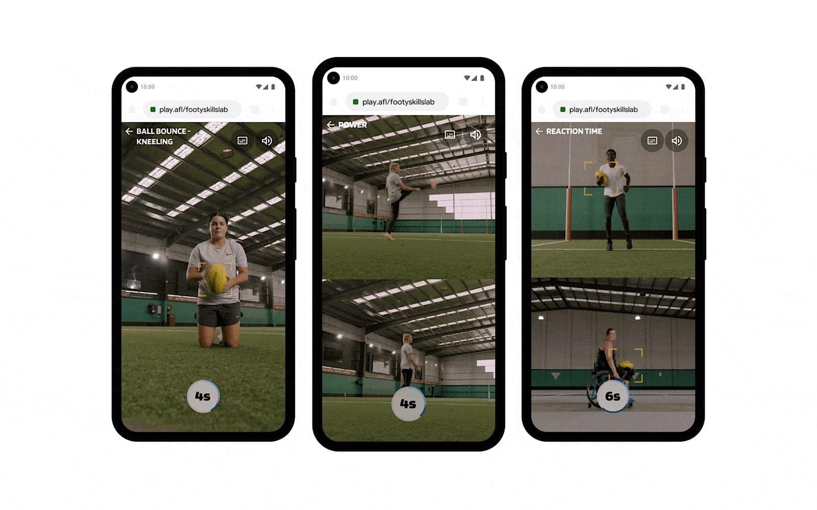 Google s'associe à l'AFL pour une plate-forme Web de compétences pour le foot