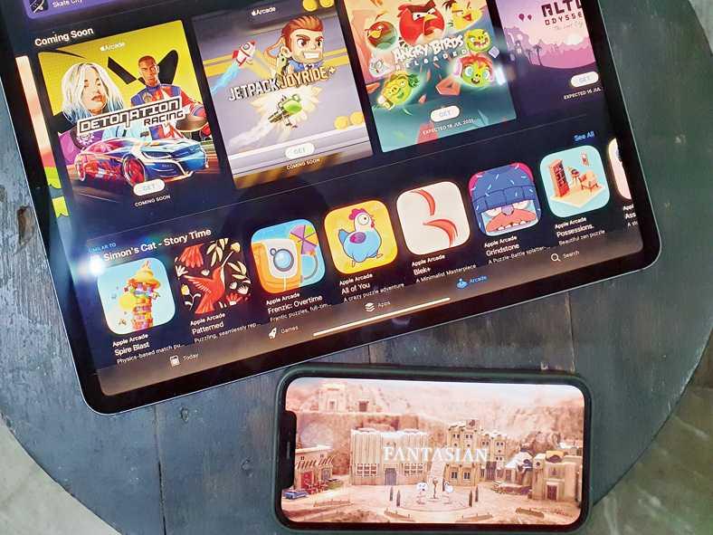 Vous pouvez jouer à des jeux Apple Arcade sur des appareils Apple.