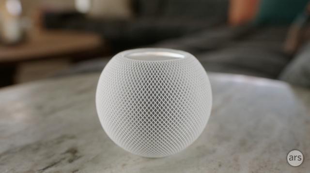 L'Apple HomePod mini.
