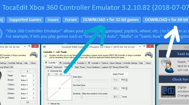 Installer l'émulateur X360