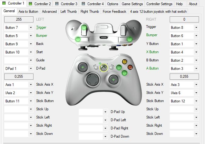 X360ce pour PC