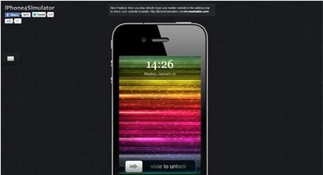 émulateur iphone