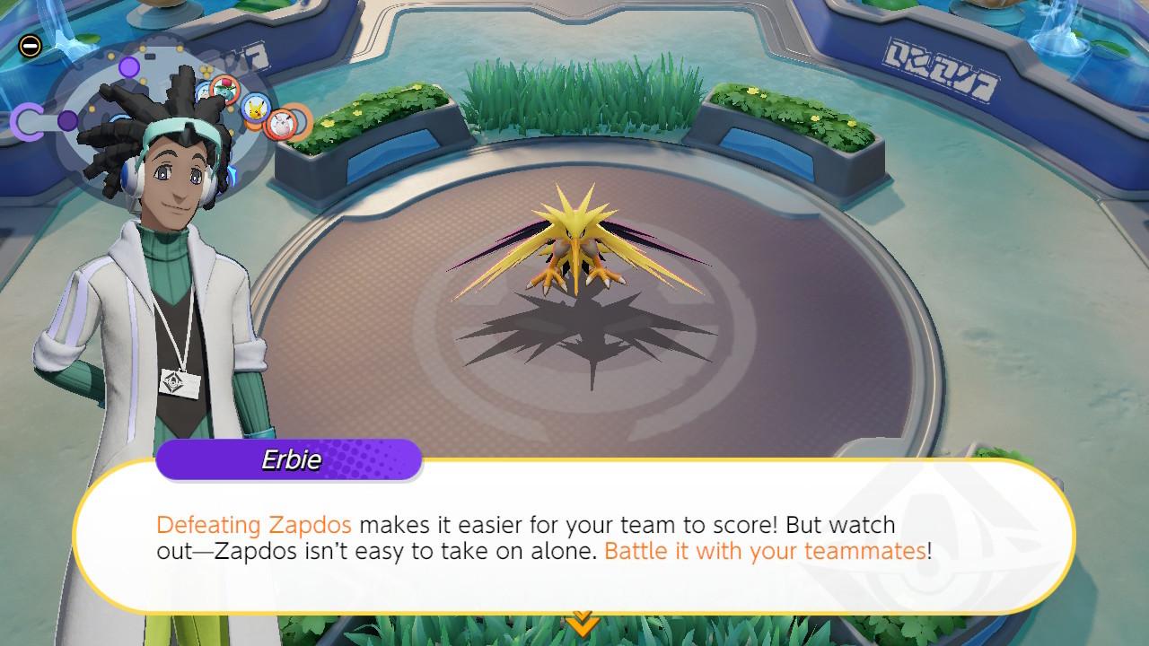Pokemon Unite Zapdos