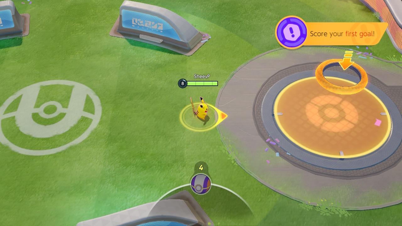 Objectif Pokémon Unite