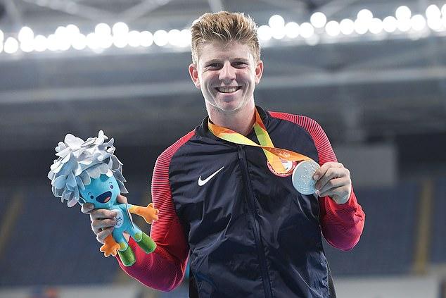 Il a ça !  Il a déjà remporté l'argent et le bronze à Rio en 2016