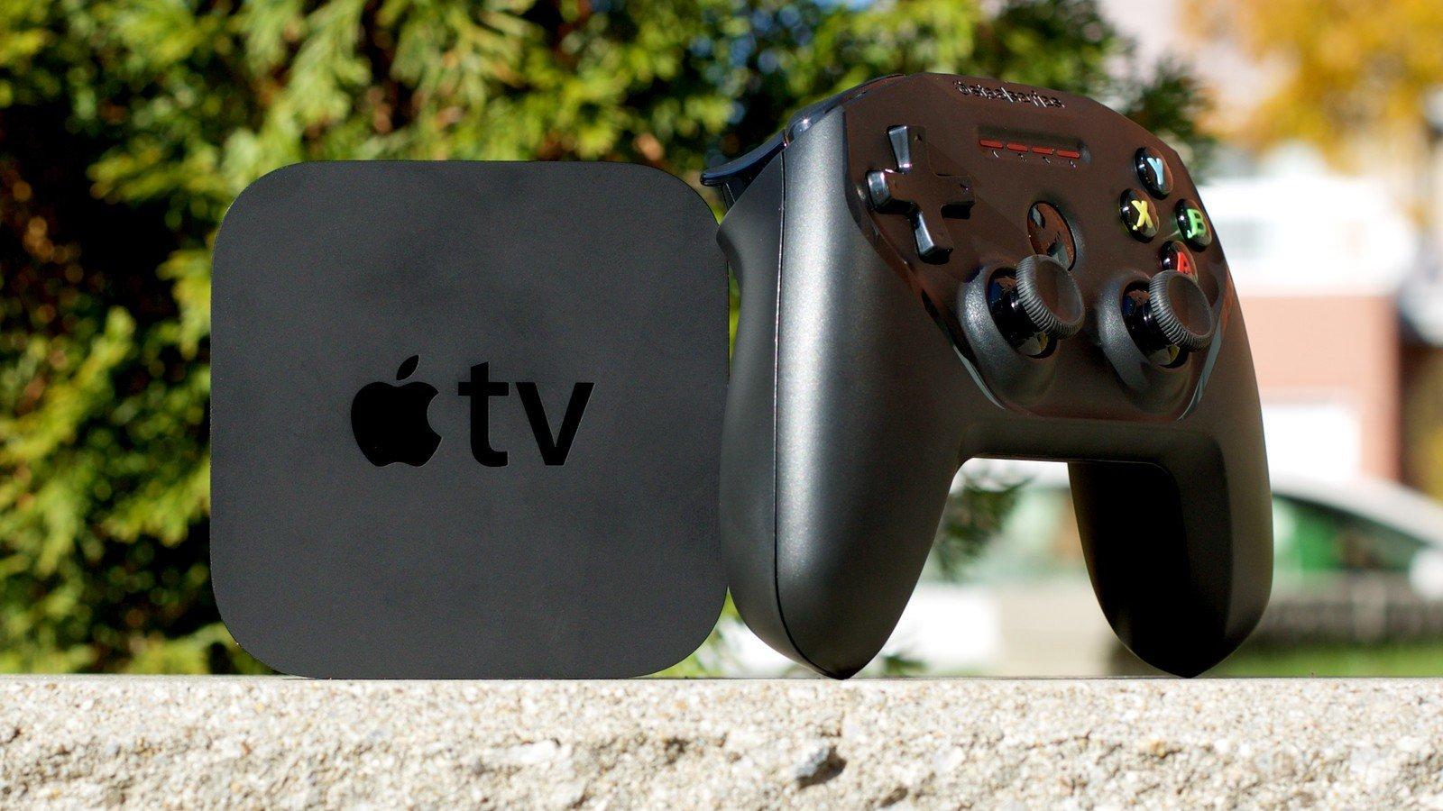 Héros de la manette Apple TV