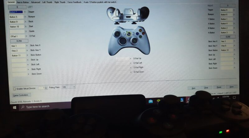 X360 Controller Emulator