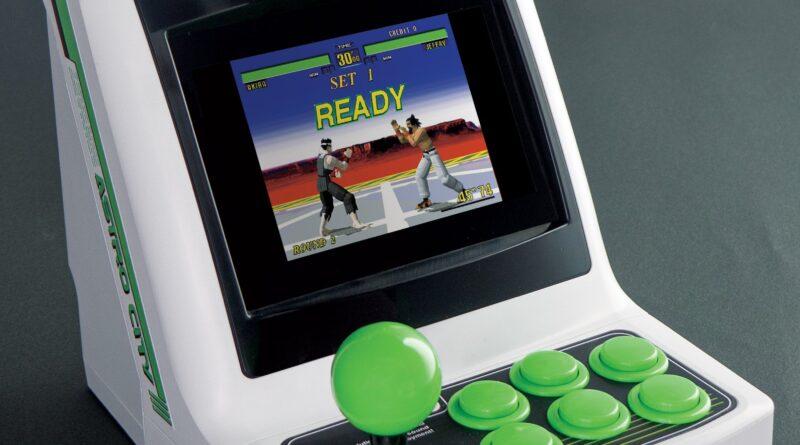 Retrouvez les sensations des salles d'arcade avec l'Astro City Mini de Sega