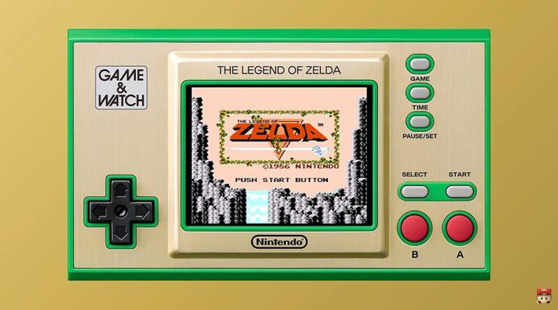 Legend of Zelda Game & Watch aura fière allure avec mes objets de collection