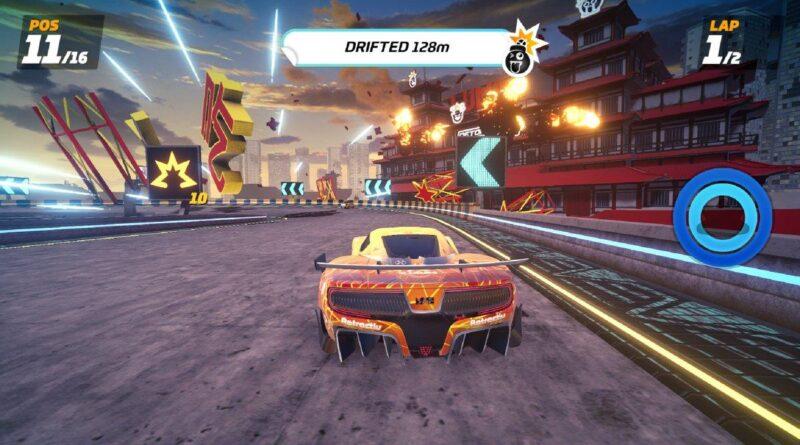 Detonation Racing : un jeu de course explosif sur Apple Arcade