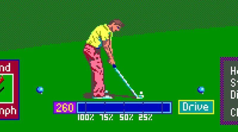 Jeux vidéo: du golf pour tous les âges!
