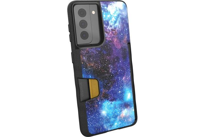 Étui Smartish Wallet Slayer pour Samsung Galaxy S21 dans un imprimé galaxie.