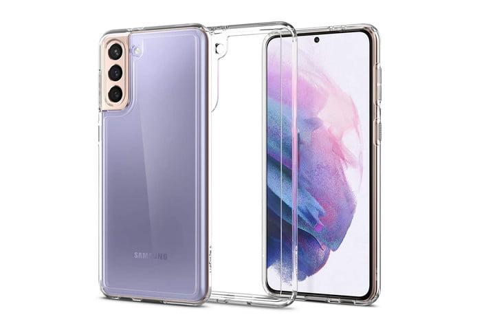 Coque Spigen Ultra Hybride pour Samsung Galaxy S21.