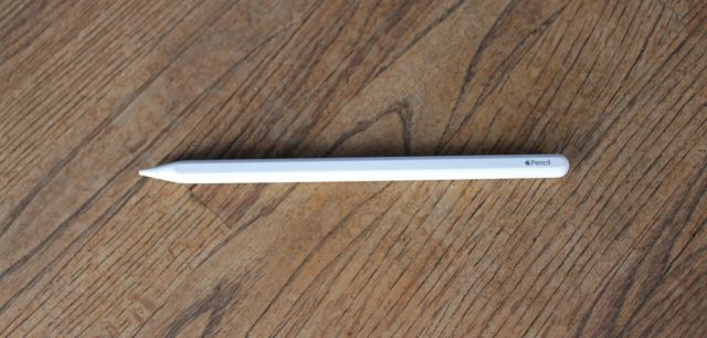 Le crayon Apple de deuxième génération.